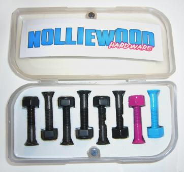 Nolliewood Montagesatz black/pink/blue