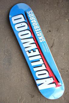Deck Nolliewood Skateboards Pain blue 8,5