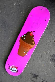 Deck Nolliewood Skateboards Taste pink 8,2