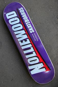 Deck Nolliewood Skateboards Pain purple 8,2